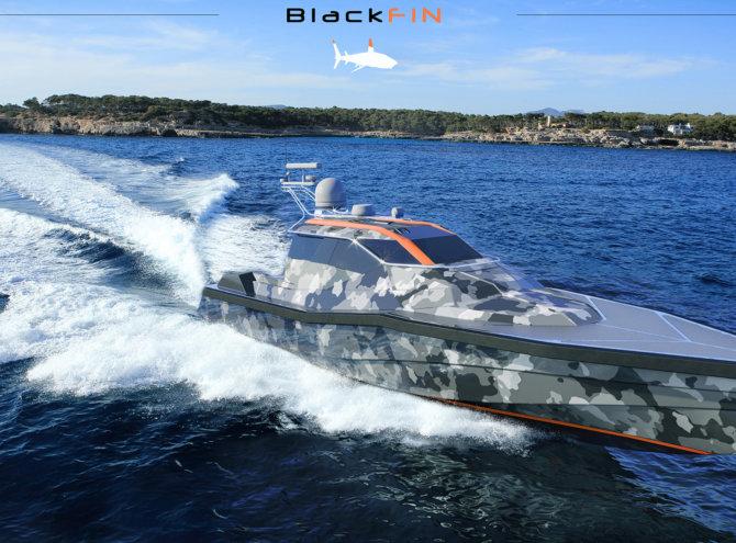 BlackFin 46 Orange